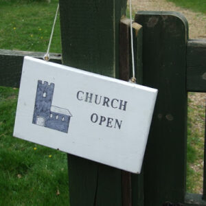 Churches Allowed To Reopen