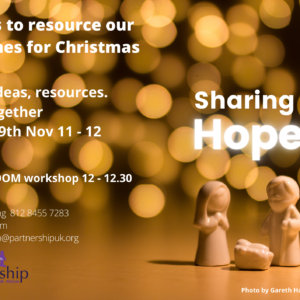 Sharing Hope – Christmas Ideas in the Time of Covid 19